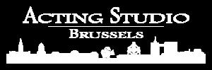 Acting Studio Brussels Logo white Retina version 1122px x 371px